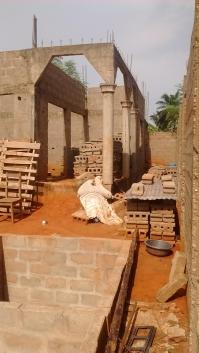 Vente d'une maison en construction