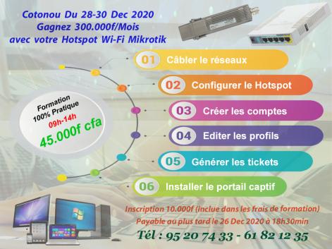 Formation 100% pratique router mikrotik